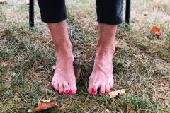 grass-feet